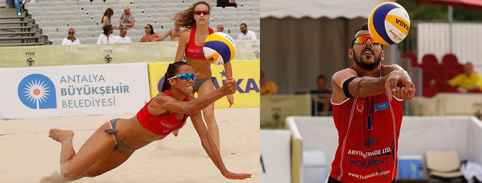 FIVB World Tour Antalya Open Bayanlar ve Erkekler Grup Maçları İle Devam Etti