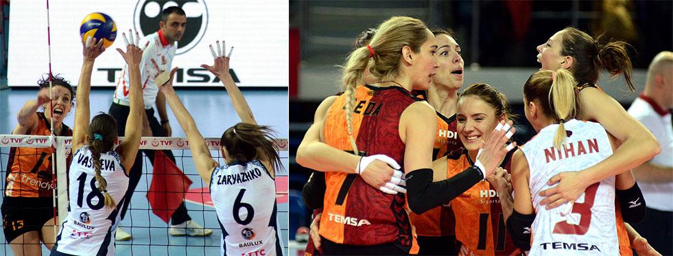 Galatasaray Final Yolunu Yarıladı