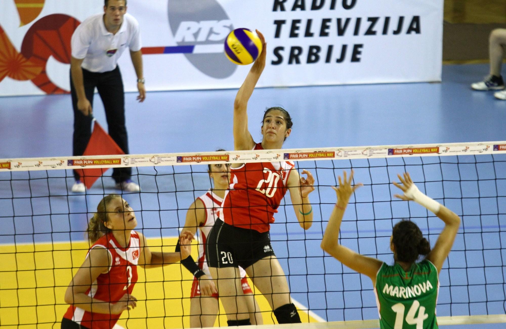 Genç Kızlar Balkan Şampiyonası yarı finalinde Sırbistan ile karşılaşacağız