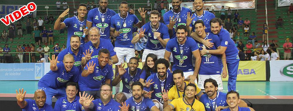 Güney Amerika'da şampiyon Sada!.. (VIDEO)