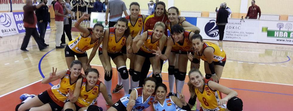 İdmanocağı Balkan Kupası'nda finale yükseldi