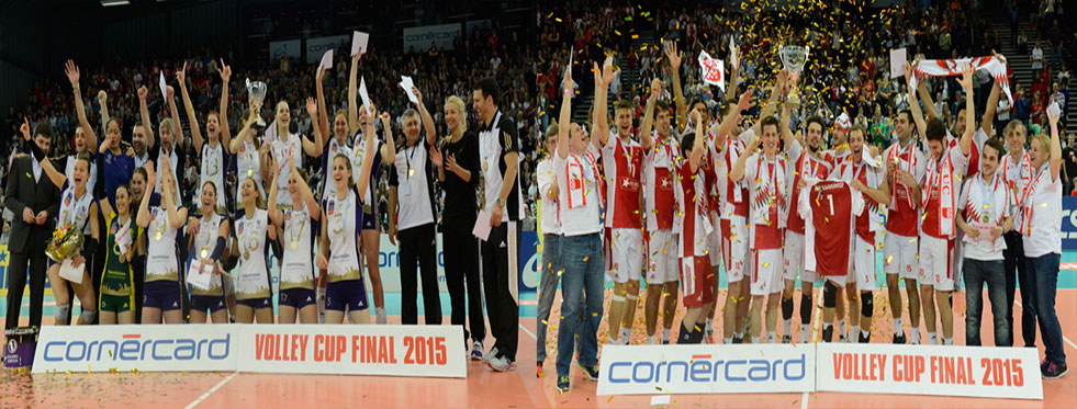 İsviçre Kupası Volero Zurich ve Lozan UC'nin!...