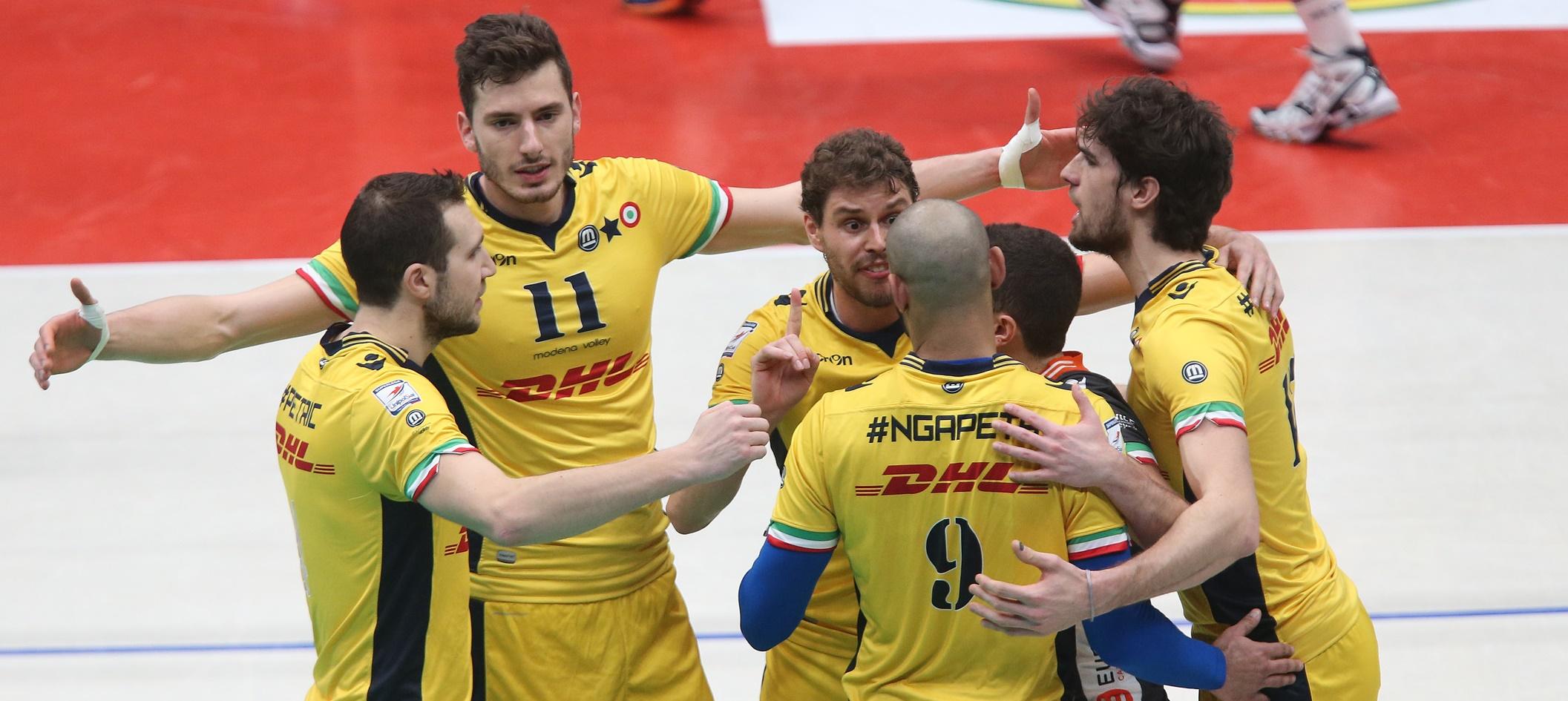 İtalya Kupası 12. kez Modena'nın
