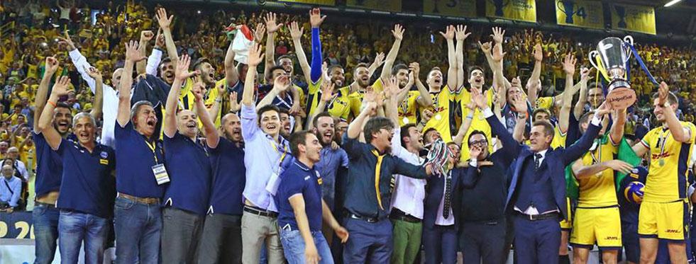 İtalya'da Şampiyon DHL Modena