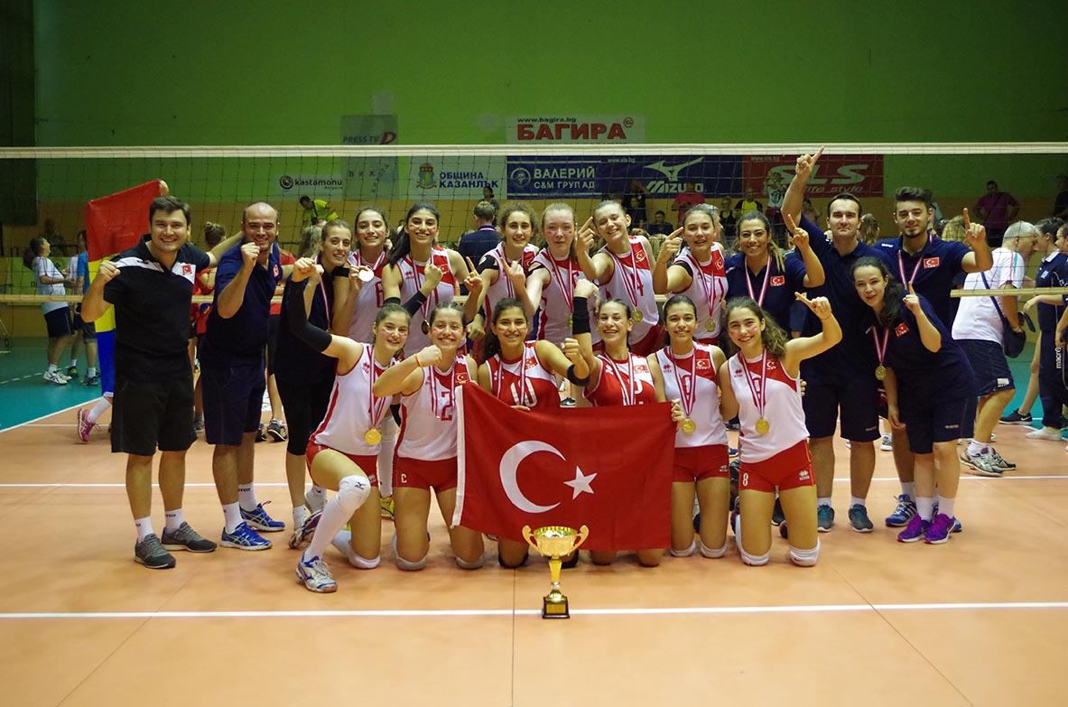 Küçük Kız Milli Takımımız Balkan Şampiyonu Oldu