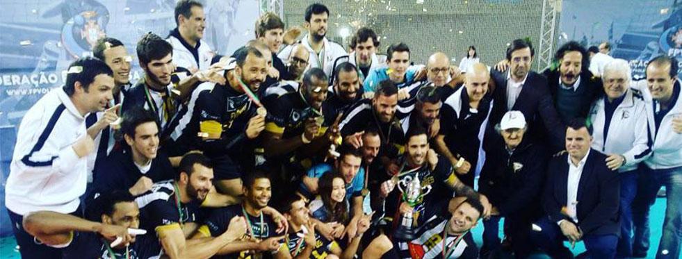 Portekiz Kupası Şampiyonu Espinho!..