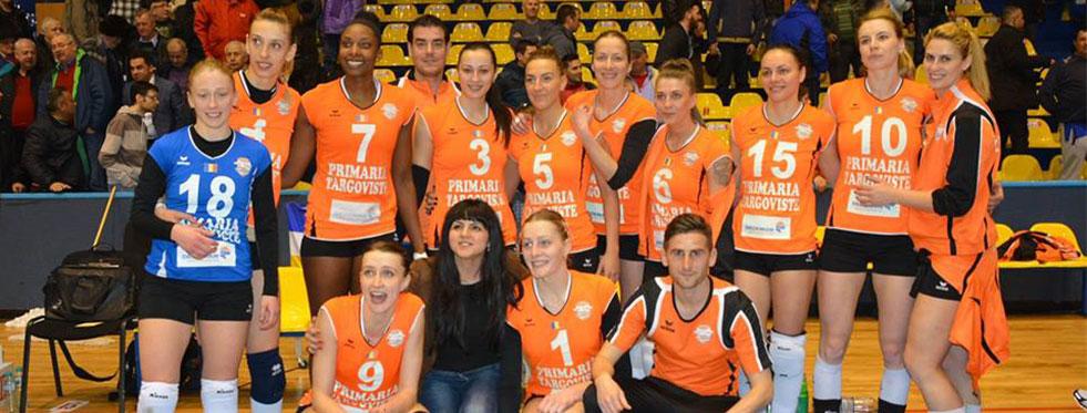Romanya'da CSM Targoviste, finale 1 adım daha yaklaştı...