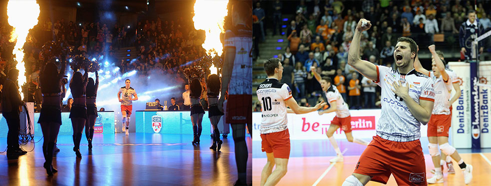 Şampiyonlar Ligi'nde finalin adı Asseco Resovia - Zenit Kazan (FOTO)