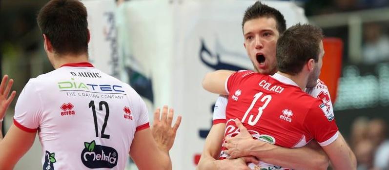 Trentino, Modena'yı liderlikten etti:3-2