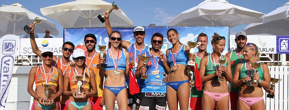 TVF Pro Beach Tour Sole&Mare Open'da şampiyonlar belli oldu