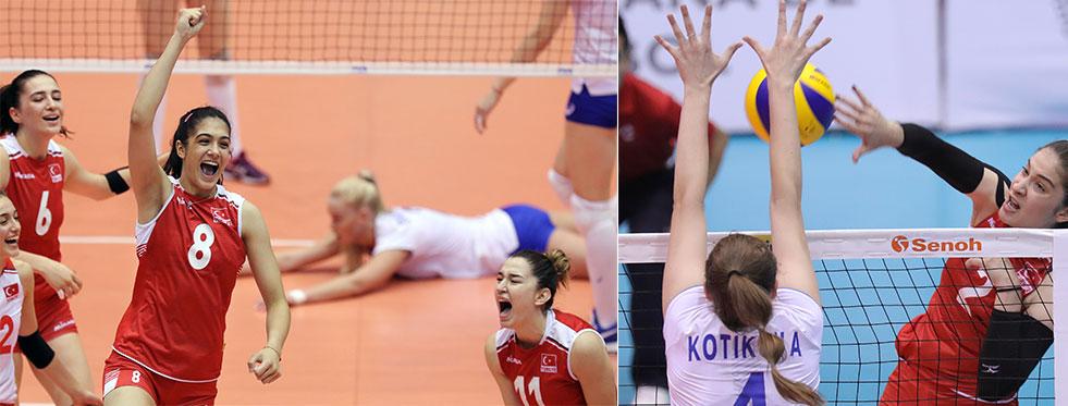 U20 Dünya Şampiyonası'nda Rusya - Türkiye: 3-1