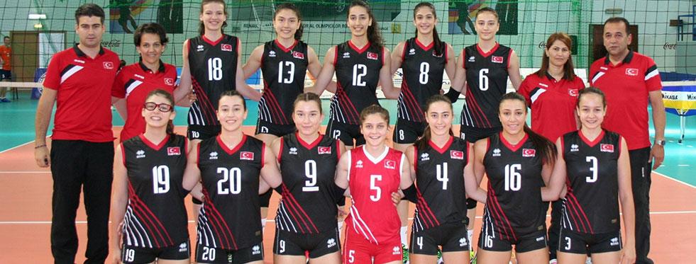 Yıldız Kızlar Balkan Şampiyonası'nda yarı finaldeyiz