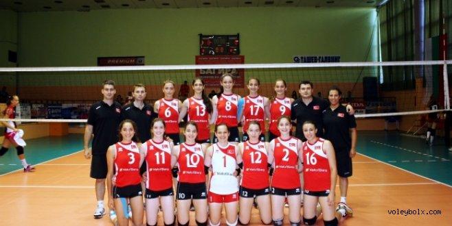Yıldız Kızlar Sırbistan'ı 3-1 yendi