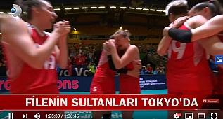 Türkiye - Almanya: 3-0 | 2020 Tokyo Olimpiyat Elemeleri | FİNAL (VIDEO)