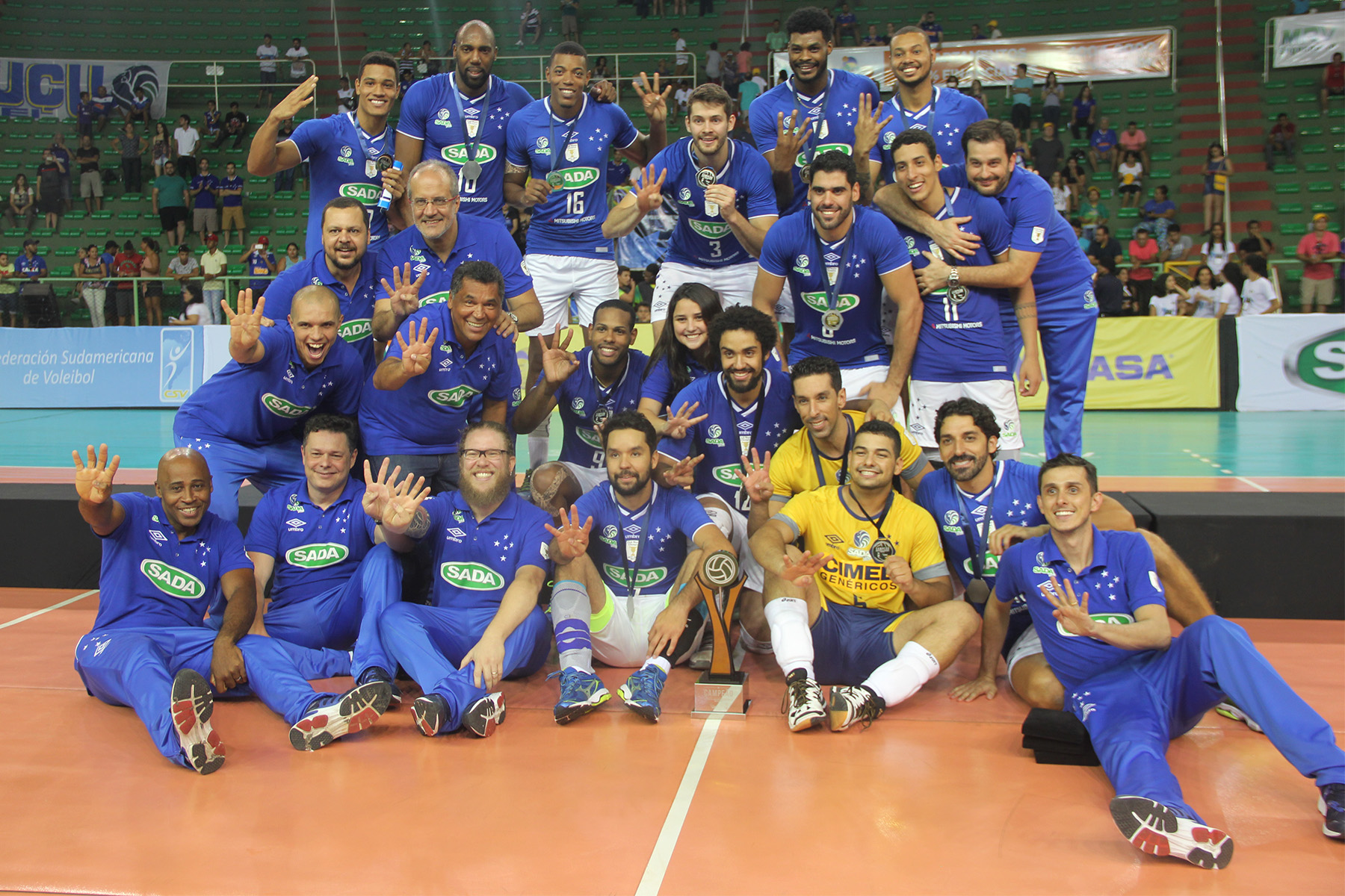 Sada Cruzeiro (Bra) – Personal Bolivar (Arg) 3-0
