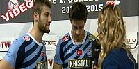 Fenerbahçe - Arkas Voleybol Maçı Sonrası Röportajlar