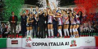37. Bayanlar İtalya Kupası Finali (Novara:3 - Modena:1)