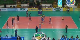 Sada Cruzeiro (Bra) – UPCN (Arg) 3-0