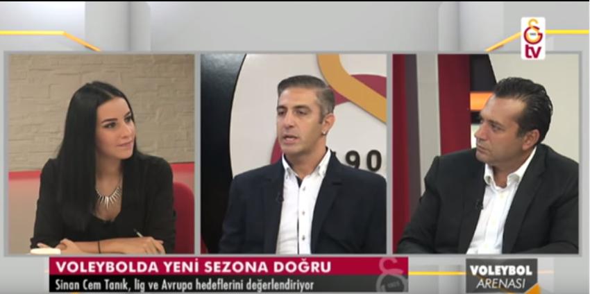 GS TV - Voleybol Arenası (17.09.2015)